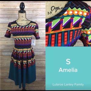 NWT Lularoe Amelia Dress - Small
